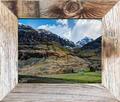 frame, barnwood, rustic, photograph,