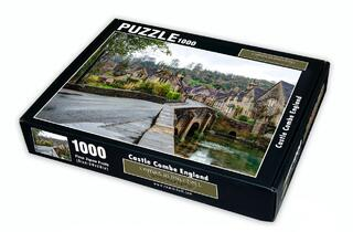 Castle Combe, England 1000 Piece Puzzle