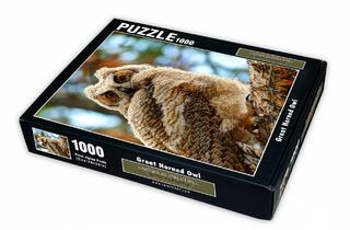 Great Horned Owl 1000 Piece Puzzle