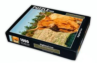 Highland Cow 1000 Piece Puzzle