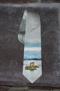 Neck Tie, Castle Stalker, Scotland