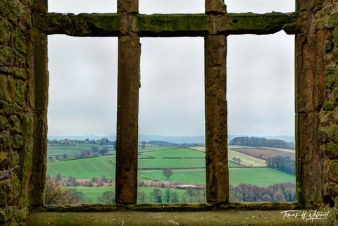 limited edition, museum grade, fine art, prints, hardwick hall, old, Elizabethan, mansion, old hall, photograph, england, english countryside, window