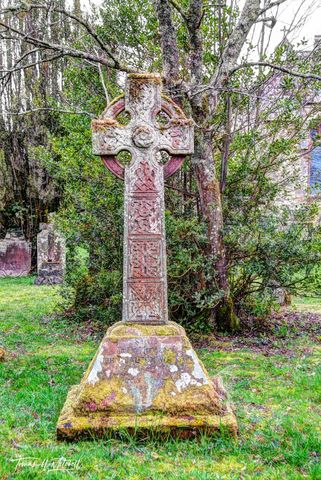 Celtic cross, Celtic, Cross, Muncaster, England, Lake District, church, old, cemeteries, sacred, memory, moss, limited edition, museum grade, fine art, prints, photograph