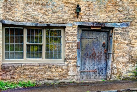 limited edition, museum grade, fine art, prints, photograph, Castle Combe, England, Cotswolds, windows, doors, old, wood, rock, cottage