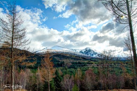 limited edition, museum grade, fine art, prints, ben nevis, scotland, grampian mountains, UK, nevis range, mountain, snow, trees, forests, cloudy, spring, heaven