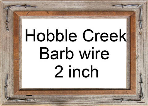 Hobble Creek with Barb Wire 2 inch