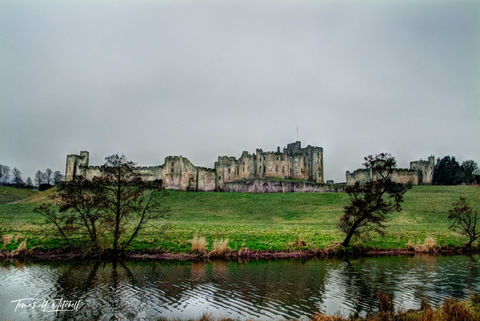 limited edition, museum grade, fine art, prints, hogwarts, alnwick, castle, england, english, northumberland, norman, alnwick castle, downton abbey, robin hood, harry potter, gloom, mood, mystery, mag