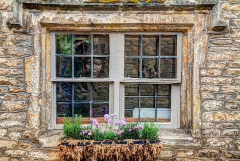 Fine Art, Museum Grade, prints, England, Castle Combe, Cotswolds, mask, window, photograph