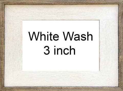 White Wash 3 Inch