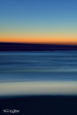 limited edition, fine art, prints, photograph, pacific grove, california, sunset, icm photography, abstract, ocean, beach, waves, summer, monterey  county