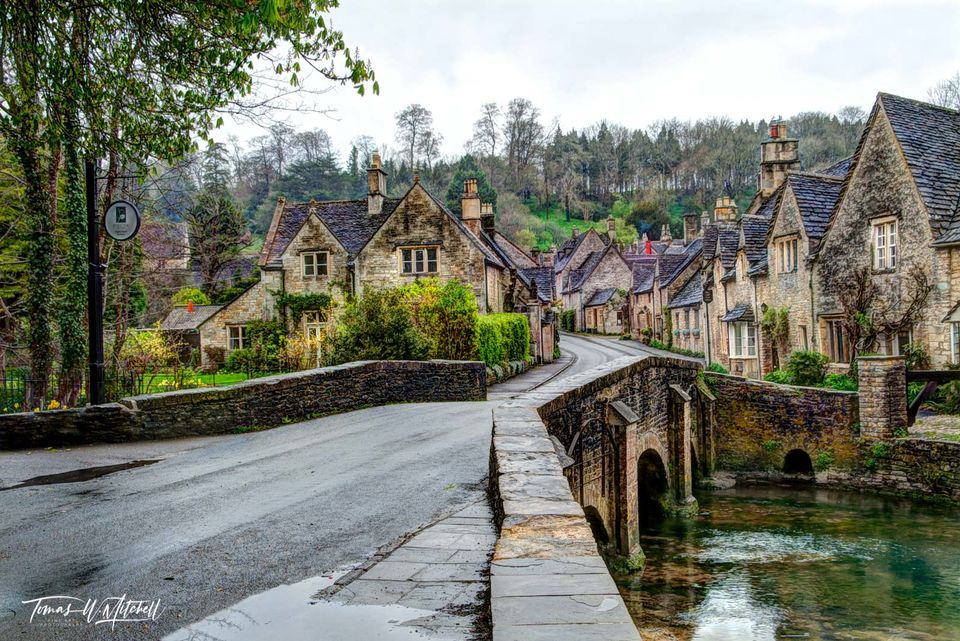 limited edition, Museum Grade, Fine Art, Prints, England, Castle combe, Cotswolds, village, bridge, old town, wiltshire, star dust, England, bridge, prints, photograph