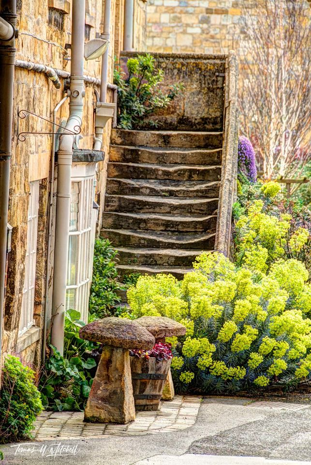 limited edition, museum grade, fine art, prints, photograph, cotswolds, england, stairs, old, still life