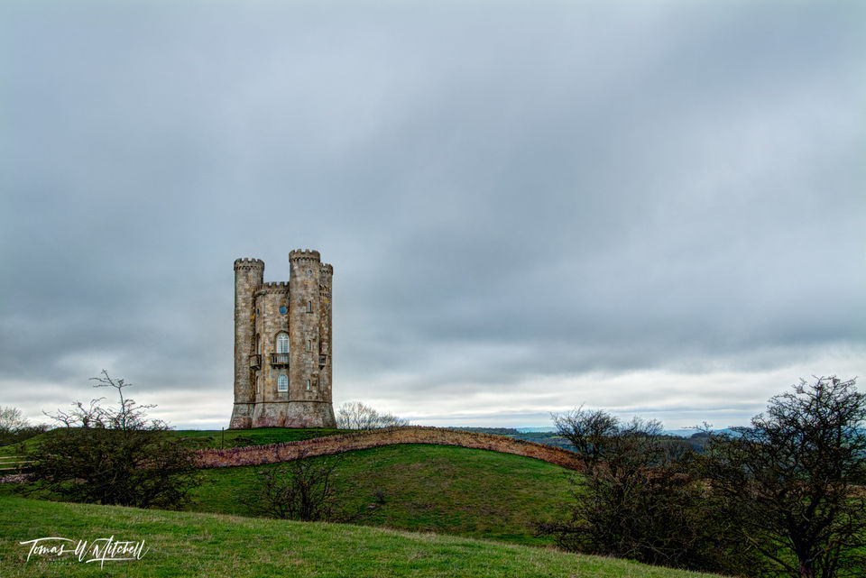 limited edition, museum grade, fine art, prints, photograph, broadway tower, england, castle, lady coventry, folly, saxon