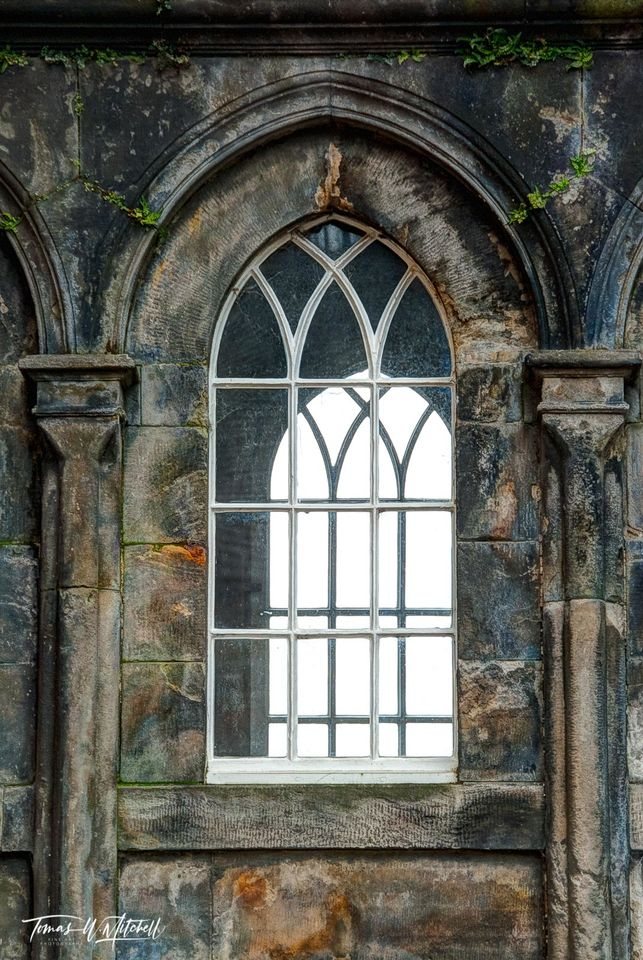 limited edition, fine art, prints, stirling, castle, scotland, famous, historical, windows, photograph, green, stone, arches