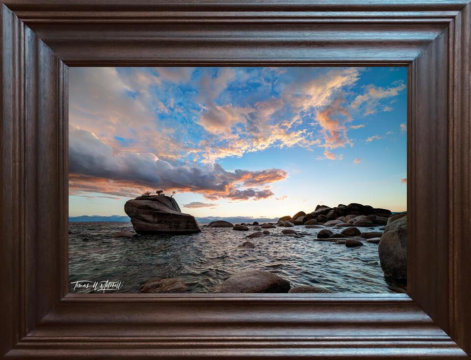 photograph, 20x30, open edition, paper print, frame, hardwood,