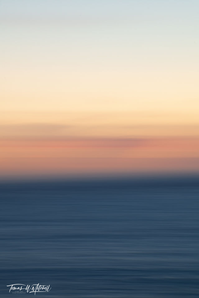 limited edition, fine art, prints, photograph, sunset, big sur, california, abstract,  pink, ocean,