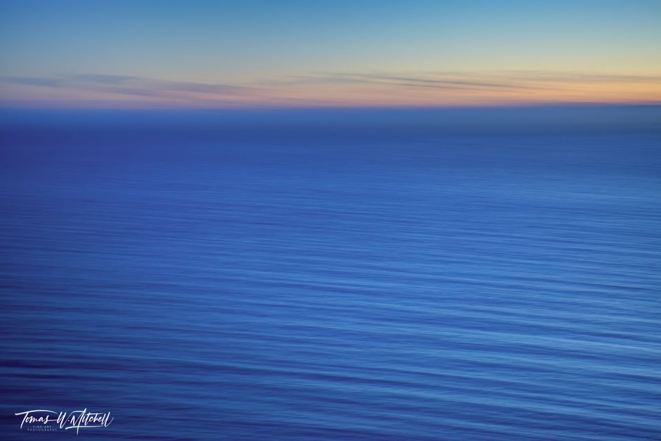 limited edition, fine art, prints, photograph, big sur, california, azure, waves, abstract, blue, ocean, sunset, abstract