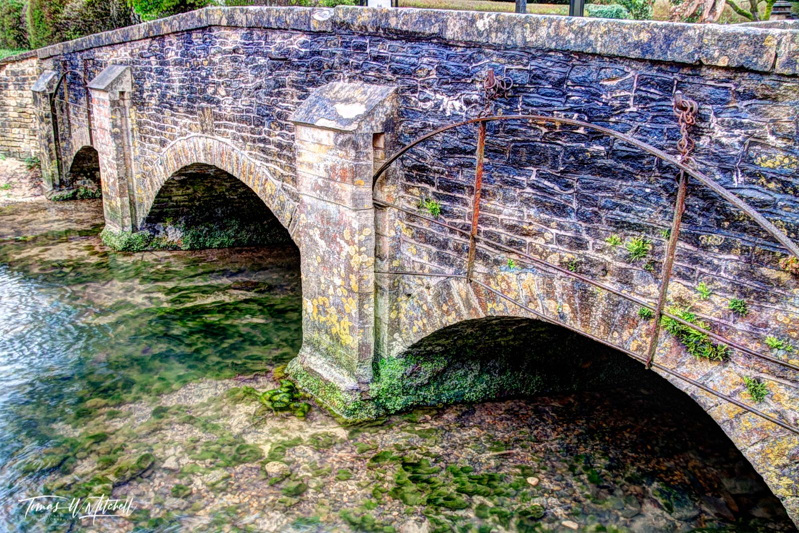 England, Castle Combe, Cotswolds, Bridge, Old bridges, Museum Grade, Fine Art, photograph, photo