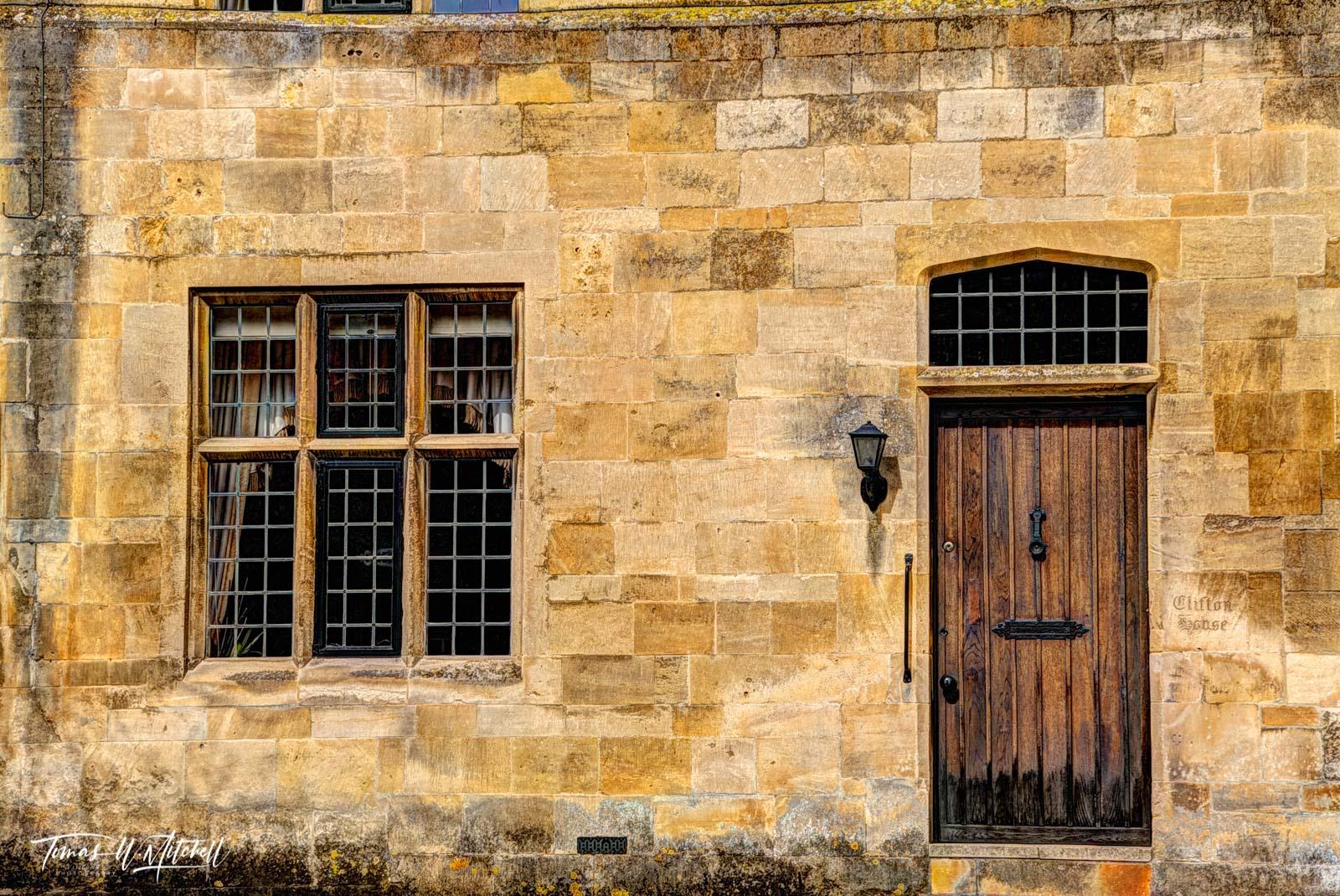 limited edition, museum grade, fine art, prints, photograph, house, cotswolds, england, door, windows, villages, photo