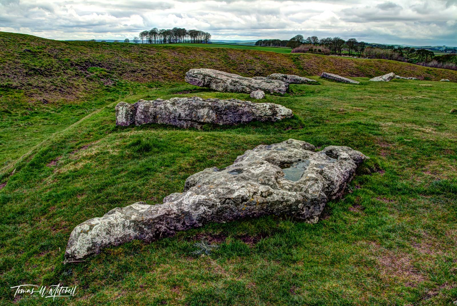 limited edition, museum grade, fine art, prints, photographing, arbor low, england, fallen gods, henge, stones, ancient, standing stones, photo