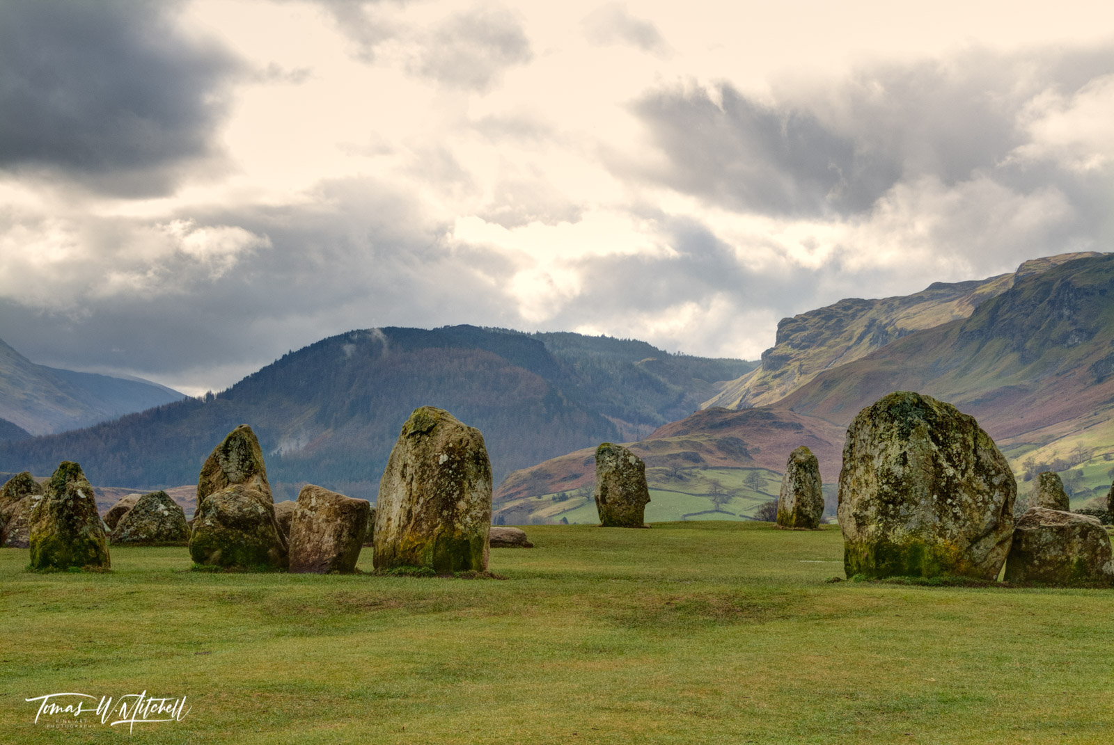 Limited Edition of 50 Museum Grade, Fine Art Prints. Castlerigg is truly one of the most mysterious places. Maybe it was because...