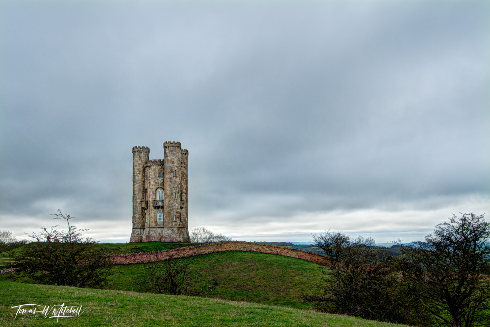Limited Edition of 50 Museum Grade, Fine Art Prints. Broadway Tower known as the 'Saxon' tower was the brainchild of Capability...