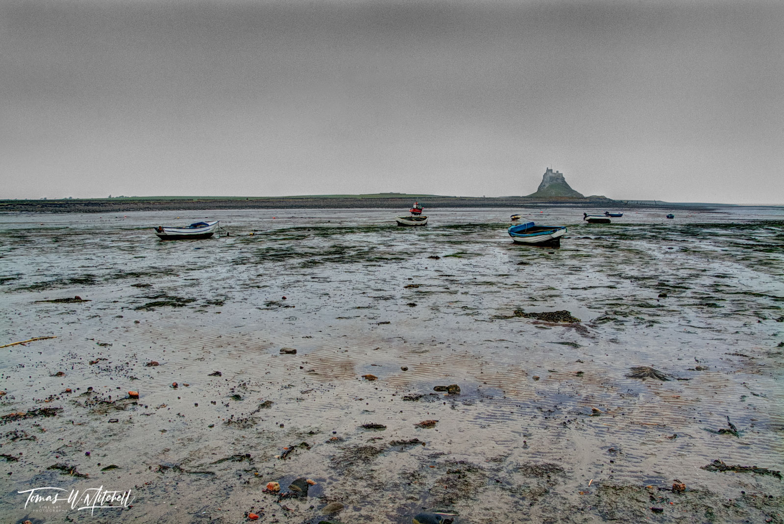 Limited Edition of 50 Museum Grade, Fine Art Prints. We had tried to drive out to Lindisfarne the previous day but found the...