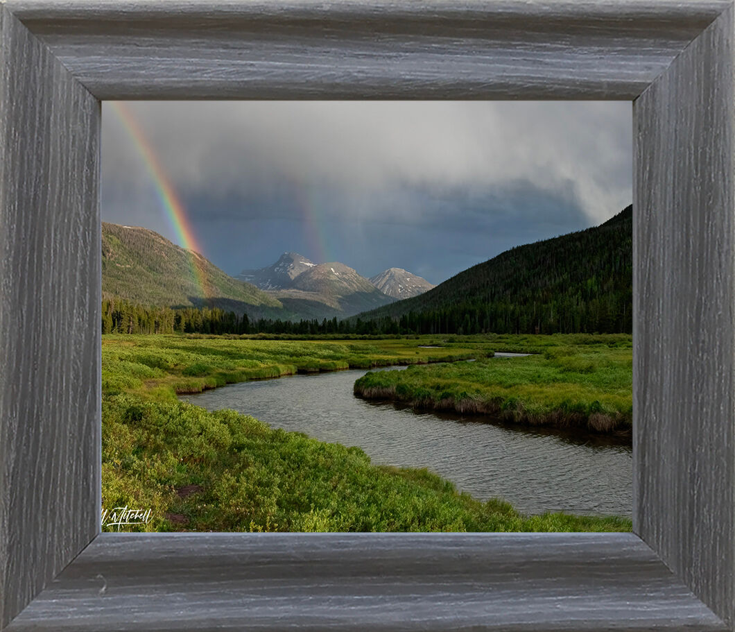 photograph, rustic, frame, paper print, , photo