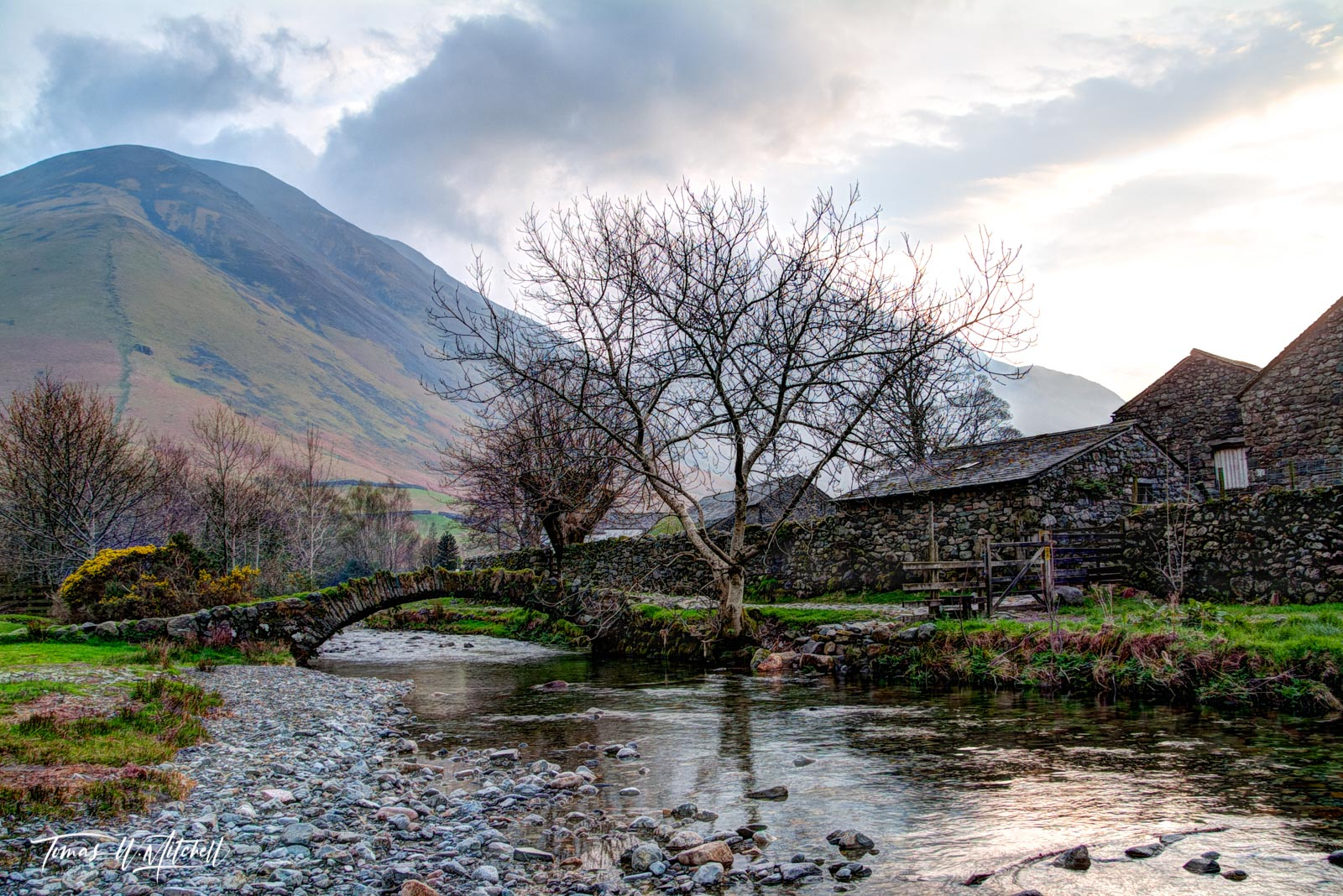 Limited Edition of 100 Museum Grade, Fine Art Prints. Wasdale Head is a remote agricultural hamlet  approximately nine miles...